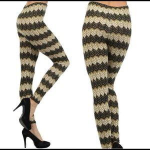 Pants - Chevron Leggings